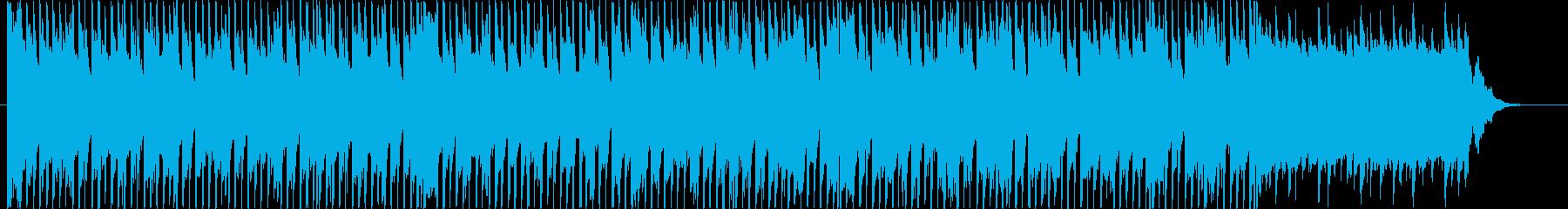 疾走感あるポップBGM(60ver)の再生済みの波形
