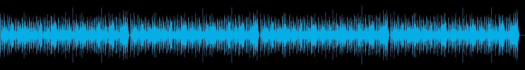 ほのぼの脱力系「荒城の月」の再生済みの波形