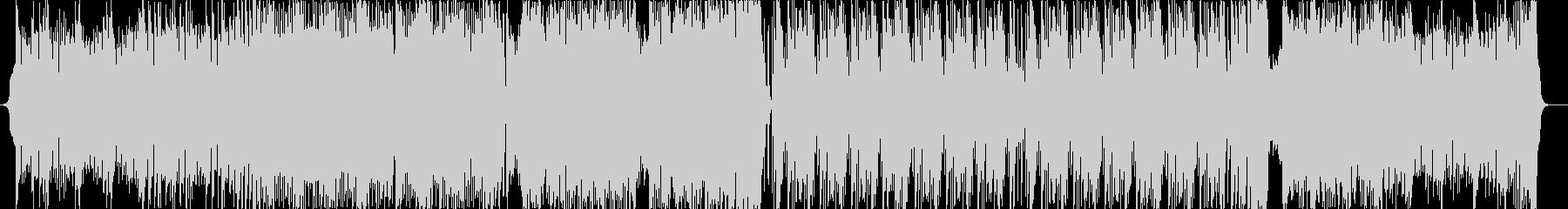 激しいビッグビート/メタルの未再生の波形