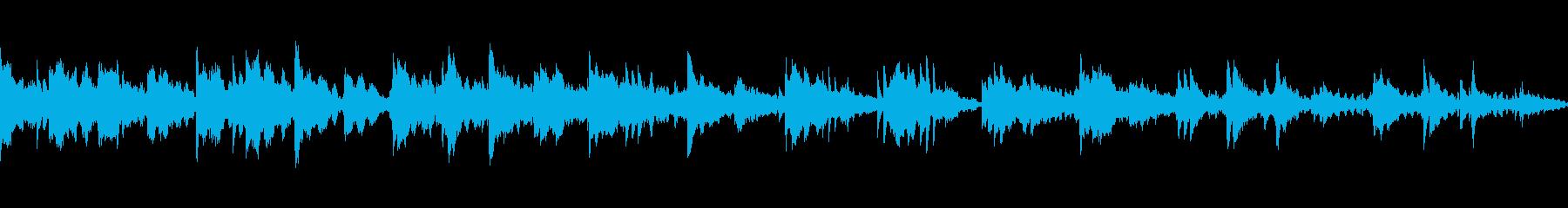 動画 感情的 静か やる気 平和 ...の再生済みの波形