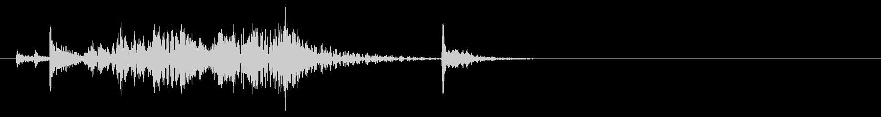 和太鼓ソロによるジングル01の未再生の波形