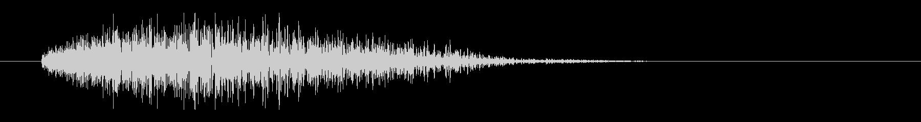 レーザー音-21-3の未再生の波形