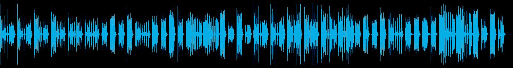 コミカルおとぼけ、ほのぼの系/ドラム抜きの再生済みの波形