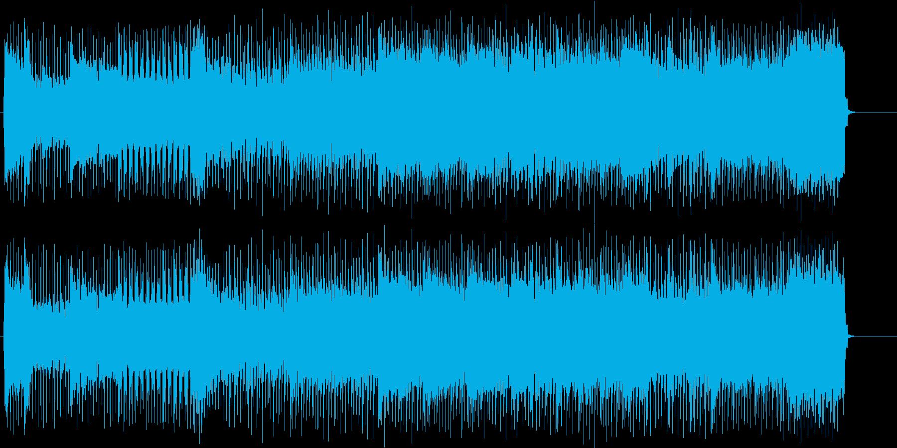 ダイナミックなアメリカン・ハードの再生済みの波形