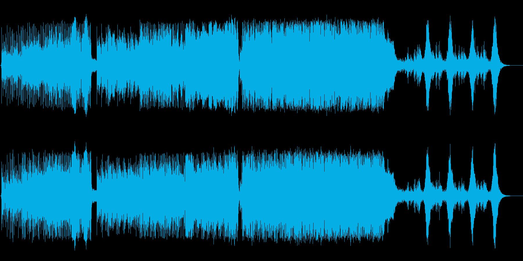 ケルト風アコースティックロックの再生済みの波形