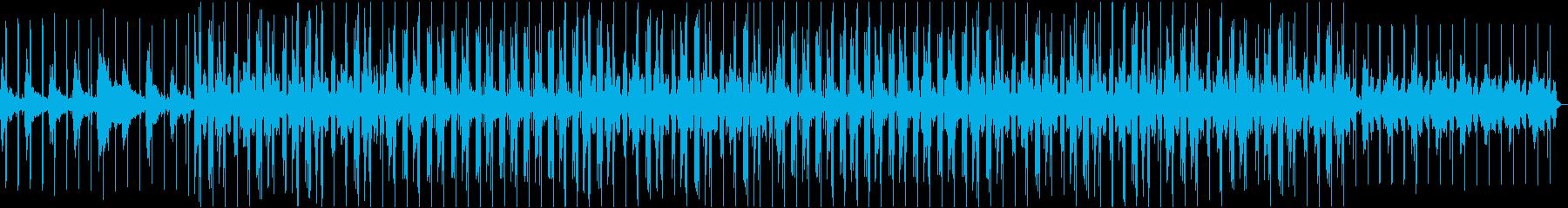 雨の日/ローファイ/チルポップ/優しいの再生済みの波形