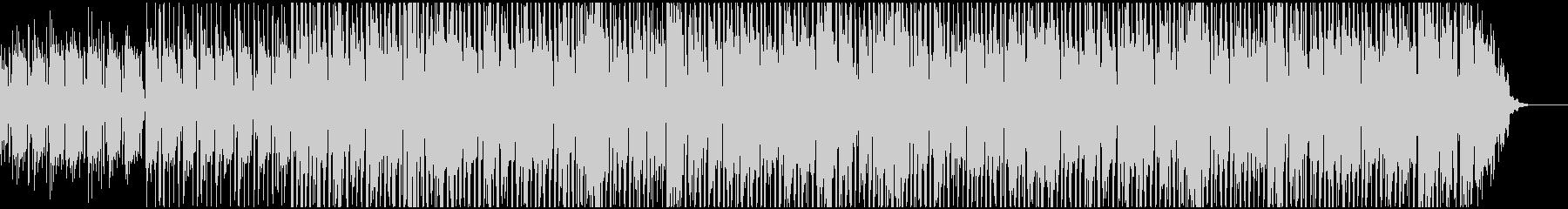 ベースが特徴的なジャズファンク系BGMの未再生の波形