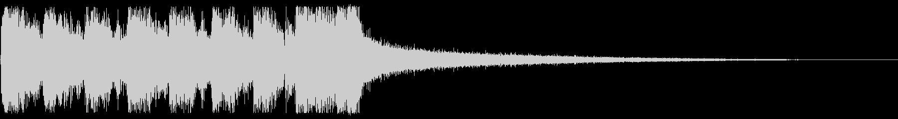 KANTホーンセクションジングルの未再生の波形