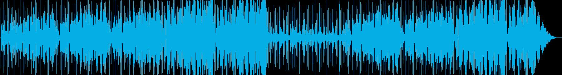 情熱。音響と電子のラブストーリーミックスの再生済みの波形