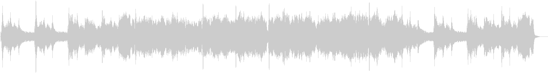 ハープとチェロが綺麗なクラシックBGMの未再生の波形