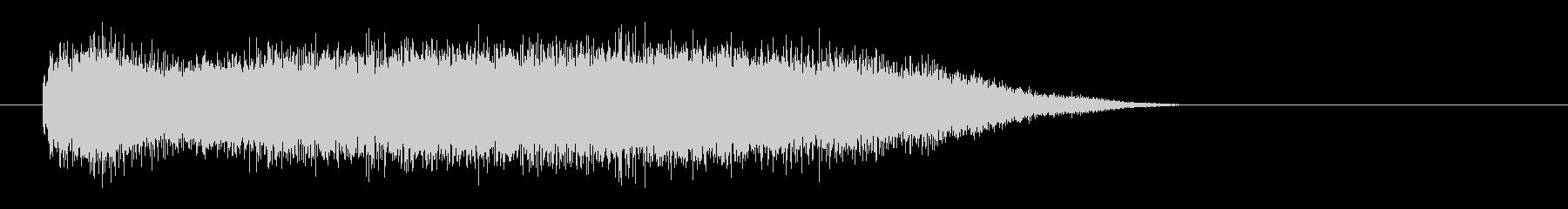 レーザー音-71-3の未再生の波形