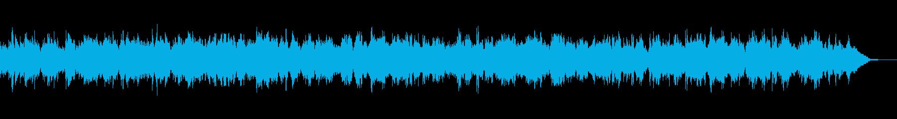 春の卒業入学の感動シーン向け弦楽四重奏の再生済みの波形
