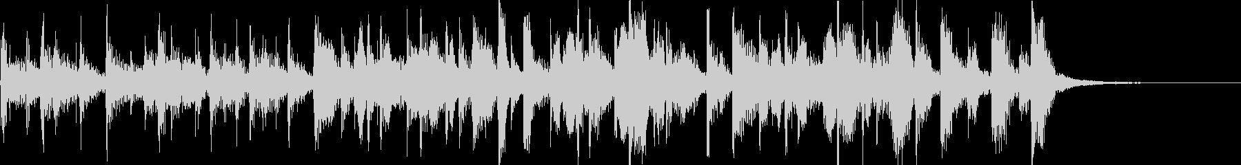 ホットタマーレブライトハッピーサルサの未再生の波形