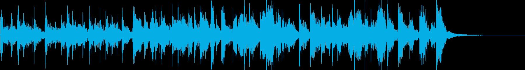ホットタマーレブライトハッピーサルサの再生済みの波形