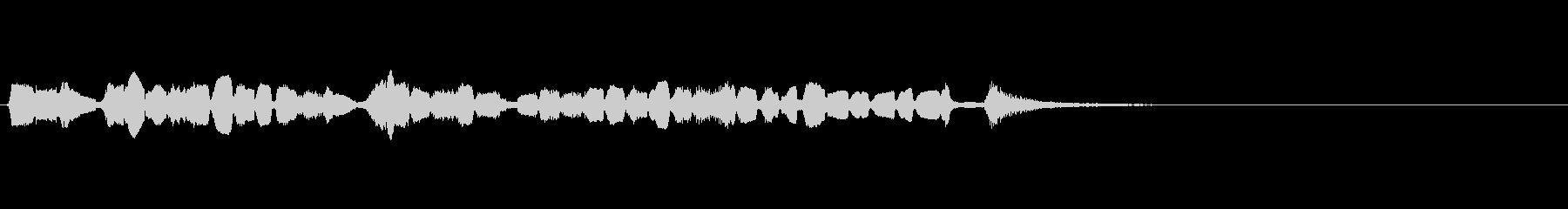 【生演奏】アコーディオンジングル23の未再生の波形
