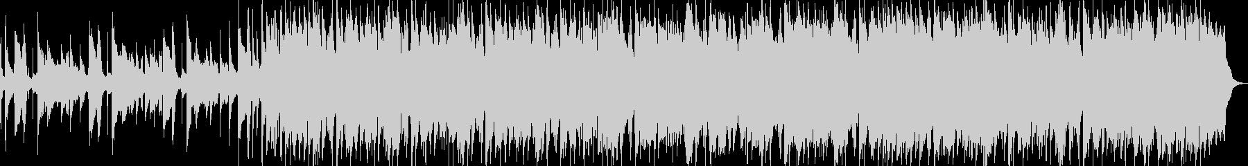 クラプトン風ギターインスト ブルージーの未再生の波形
