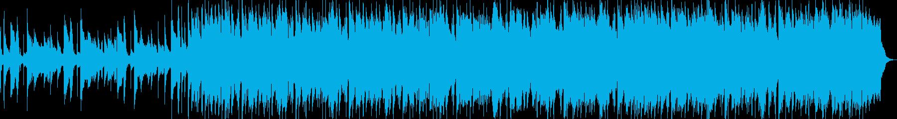 クラプトン風ギターインスト ブルージーの再生済みの波形