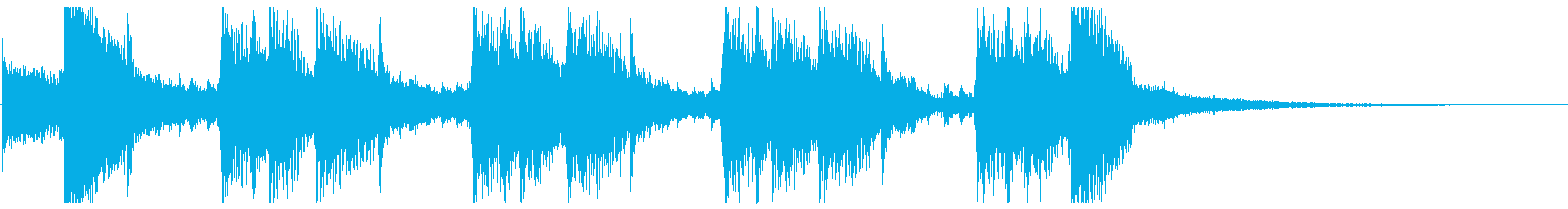 CM企業VP・生アコギ♪ジングルPOPの再生済みの波形