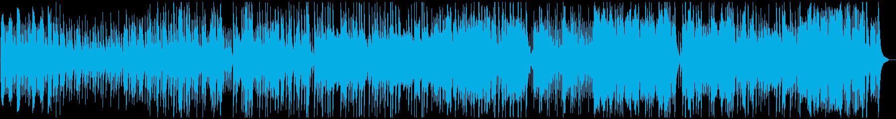 ピアノとグロッケンで切ない気持ちを表現の再生済みの波形