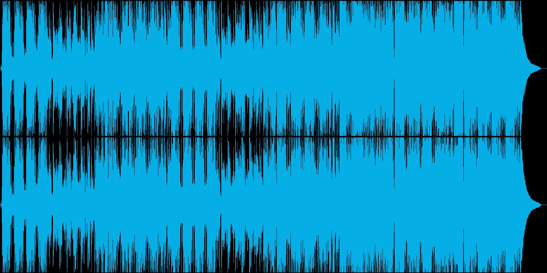 ほがらかで力強いポップスの再生済みの波形
