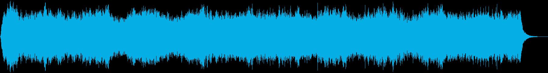 神秘02の再生済みの波形