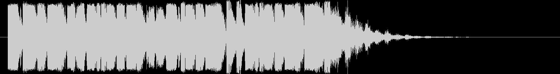 ダブステップのジングル/EDMの未再生の波形