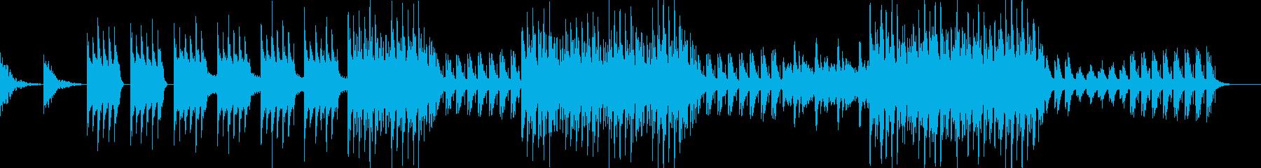 チルアウト感覚溢れるエレクトロニカの再生済みの波形