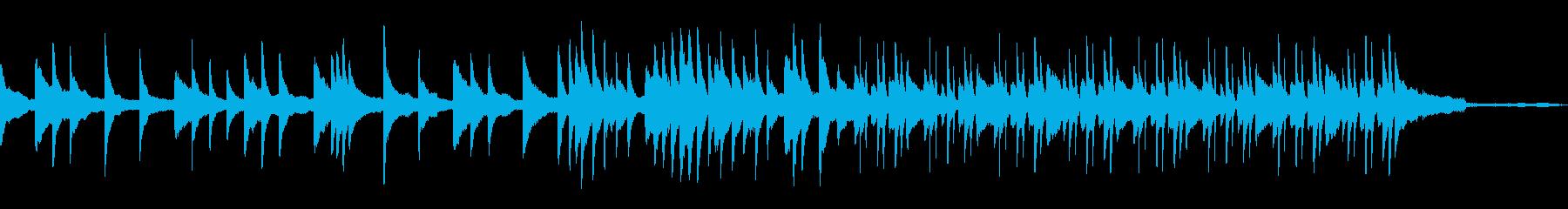 【シンセ抜1分版】穏やかな雰囲気のピアノの再生済みの波形