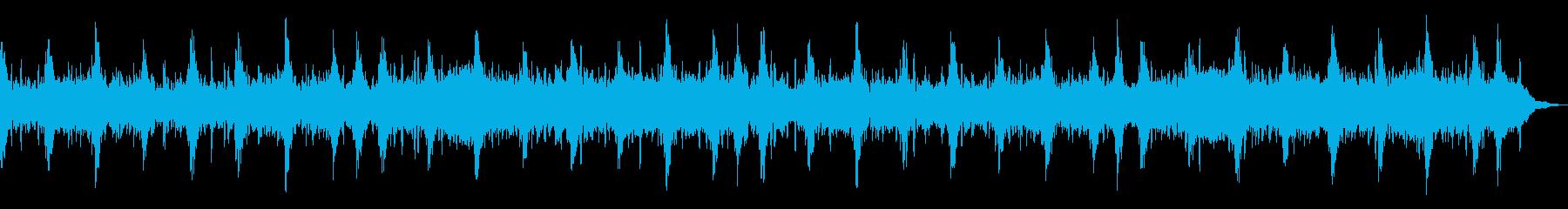 生命自然感動宇宙アンビエントヒーリングbの再生済みの波形