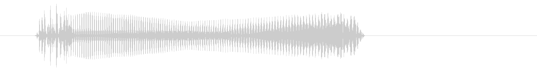 空腹04-2の未再生の波形