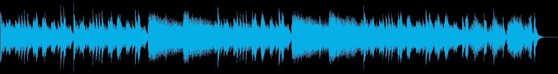 キラキラ星変奏曲(VarXⅡ)オルゴールの再生済みの波形