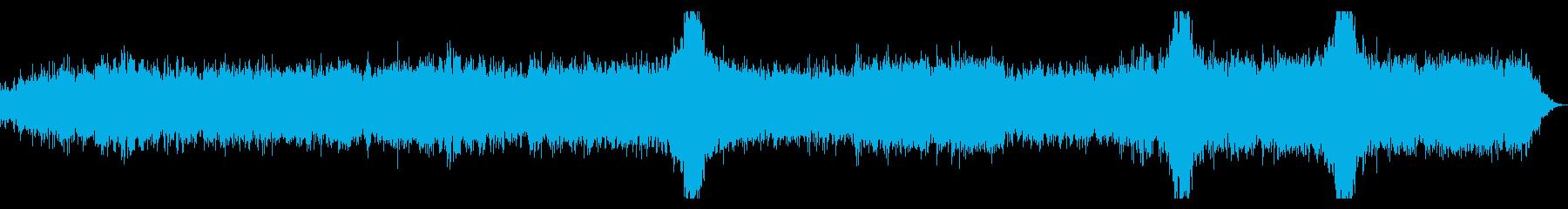ゆったりと深海を潜水する様なアンビエントの再生済みの波形