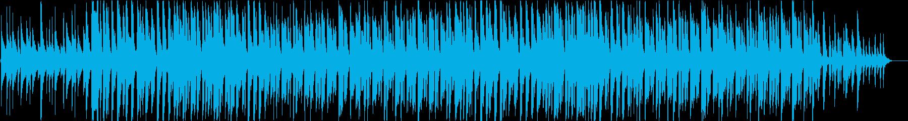 Web系CM、スマートフォンCM風の再生済みの波形