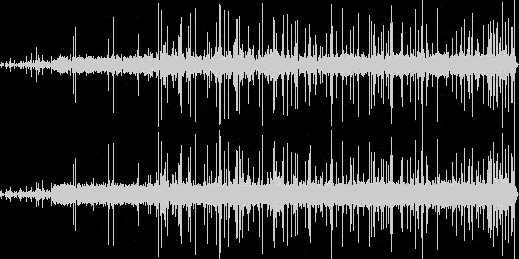 キャンプファイヤーの照明の未再生の波形