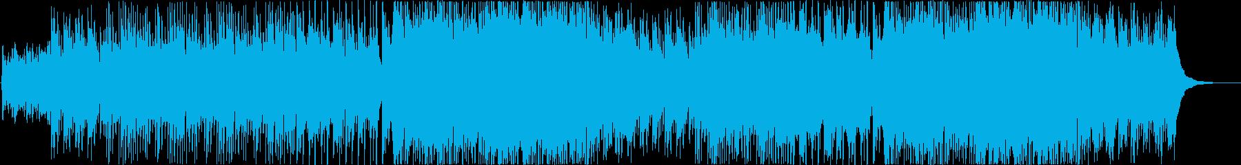 ピアノが煌びやかなジャズワルツaの再生済みの波形