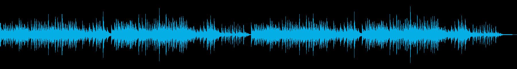 童謡「夕焼け小焼け」シンプルなピアノソロの再生済みの波形