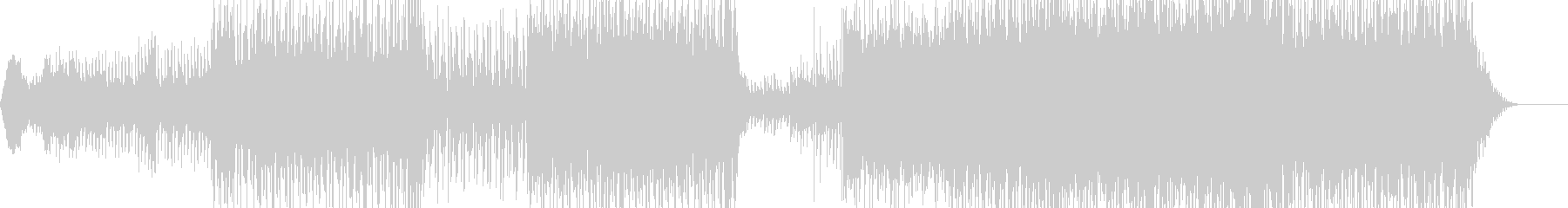 センチメンタルなポップインストの未再生の波形