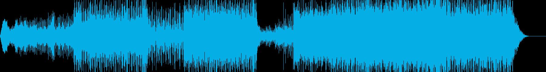 センチメンタルなポップインストの再生済みの波形