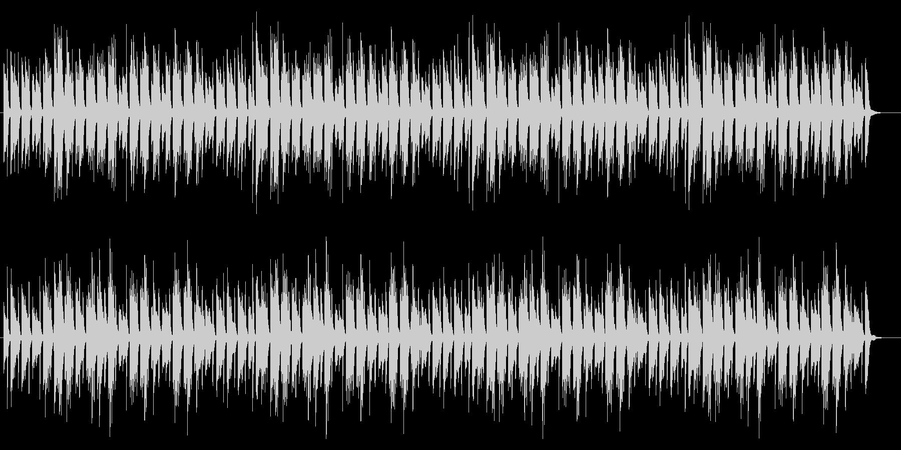 優しい明るい日常 ほのぼの 3拍子ピアノの未再生の波形