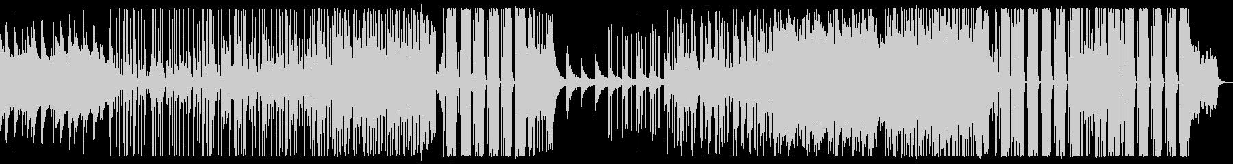 元気になる汎用的なエレクトロBGMの未再生の波形