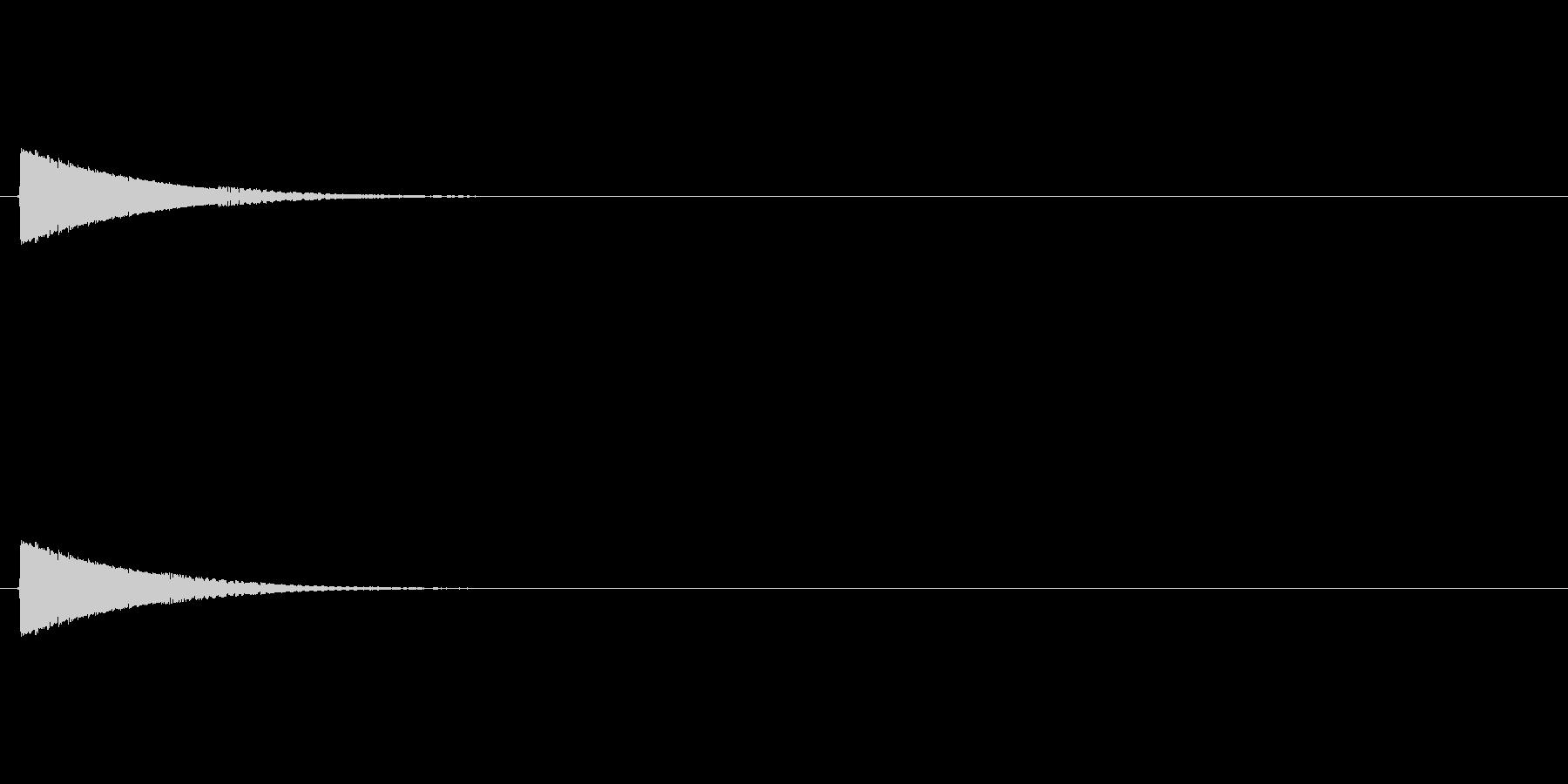 ポヨン(ゲーム用ジャンプ音)の未再生の波形