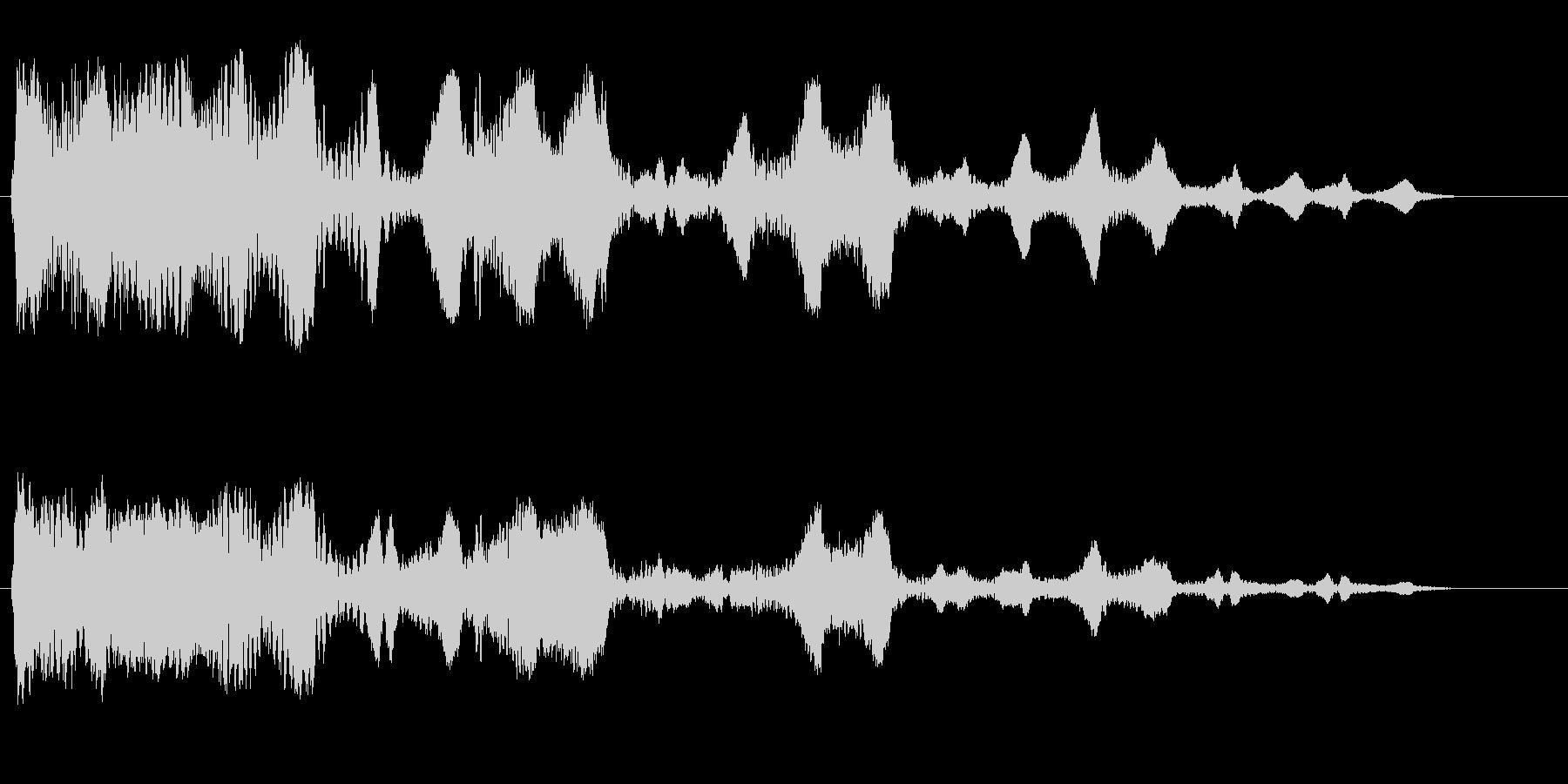 ビヨヨヨヨーン(コミカル)の未再生の波形