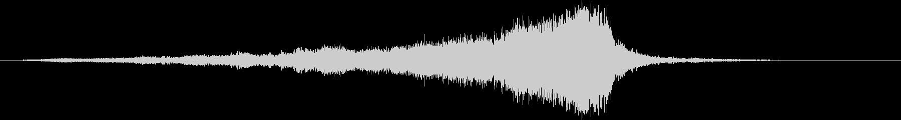 【ライザー】03 ホラーサウンド 冷気の未再生の波形
