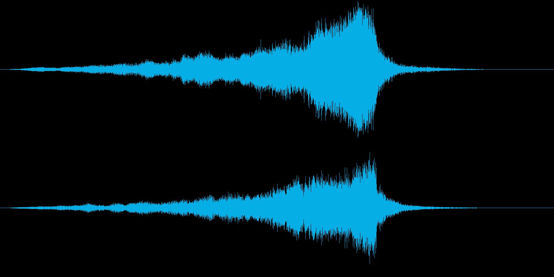 【ライザー】03 ホラーサウンド 冷気の再生済みの波形