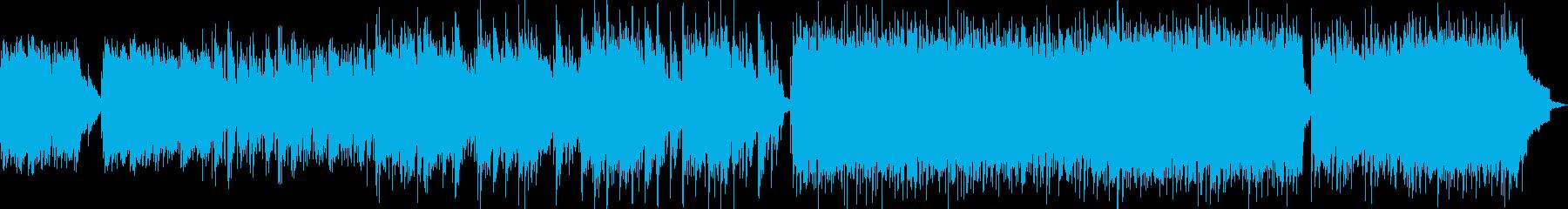 疾走感のある前向きPOPの再生済みの波形