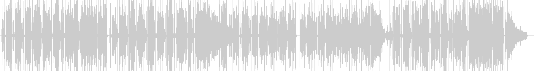 アニメ CM ほのぼの まったりの未再生の波形