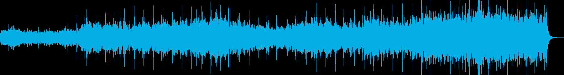 これは、オーケストラとパーカッショ...の再生済みの波形