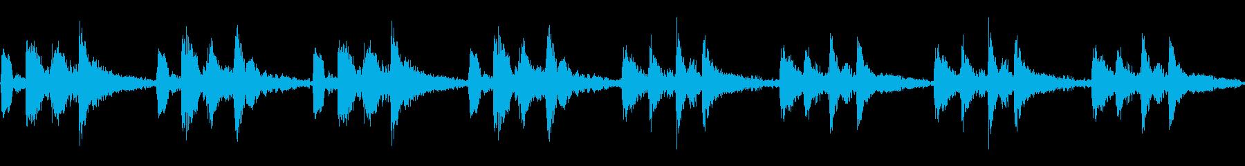 弦楽音 CM RPG  上品 ループ素材の再生済みの波形