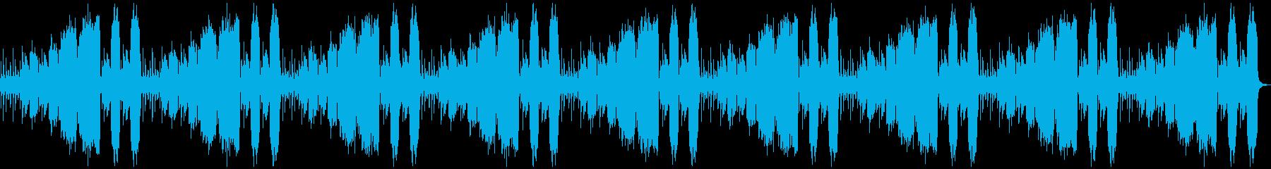 悲しい切ない神秘的、ピアノ、ストリングスの再生済みの波形