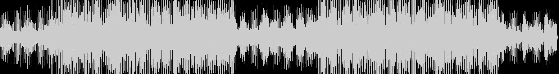 激しいジャズドラムのエレクトロスウィングの未再生の波形